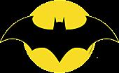 Batman - Batman Logo Regular LED Wall Light