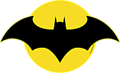 Batman - Batman Logo Large LED Wall Light