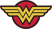 Wonder Woman - Wonder Woman Logo Regular LED Wall Light