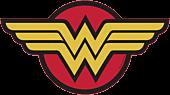 Wonder Woman - Wonder Woman Logo Large LED Wall Light
