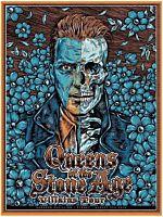 Queens of the Stone Age - Josh Homme Skull Villains Tour Sydney 31 August 2018 Art Print by Ben Brown (LE 300)