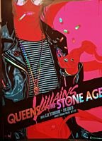 Queens of the Stone Age - Mexicola Villains Tour Sydney 1 September 2018 Art Print Foil Variant by Vance Kelly (LE 50)