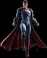 "Batman vs Superman: Dawn of Justice - Superman 10"" Play Arts Kai Action Figure"