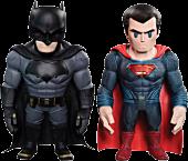 Batman and Superman Artist Mix Bobble Head Hot Toys Figures