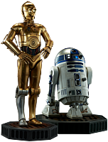 C-3PO & R2-D2 Legendary Scale Statue Bundle (Set of 2)