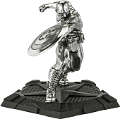 """Captain America - First Avenger 5"""" Pewter Statue 