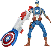 Captain America - The Winter Soldier - Captain America Shield Blitz Super Soldier Gear Action Figures (Wave 2)