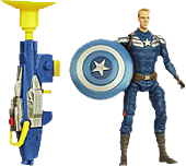 Captain America - The Winter Soldier - Captain America Grapple Cannon Super Soldier Gear Action Figures (Wave 2)
