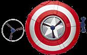 Captain America Star Launch Shield