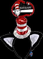 Dr Seuss - Cat in the Hat Deluxe Headband