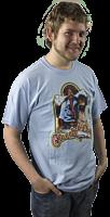 Cheech and Chong - Vintage Bong Blue T-Shirt