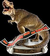 Jurassic Park - Rotunda T-Rex 1/9th Scale Statue