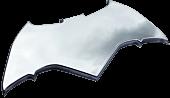 Batman Chrome Premium Emblem