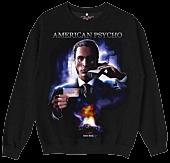 American Psycho - American Psycho x Color Bars Poster Black Sweatshirt