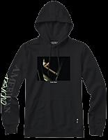 American Psycho - American Psycho x Color Bars Chainsaw Black Sweatshirt Hoodie