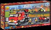 Action Town - 500 Piece Fire Rescue Brigade