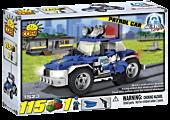 Action Town - 115 Piece Police Patrol Car