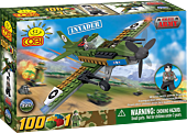 Small Army - 100 Piece Invader Plane Military Aircraft