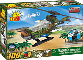 Small Army - 100 Piece Cobra Military Helicopter