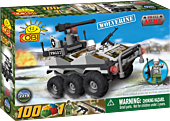 Small Army - 100 Piece Wolverine Military Vehicle