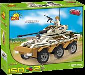 Small Army - 150 Piece Striker Transporter Tank Military Vehicle