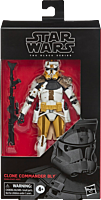 """Star Wars: The Clone Wars - Commander Bly 6"""" Black Series Action Figure"""