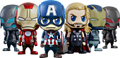 """Avengers 2: Age of Ultron - Cosbaby 3.75"""" Hot Toys Figure Collectible Set (Set of 6)"""
