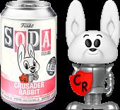 Crusader Rabbit - Crusader Rabbit Vinyl SODA Figure in Collector Can by Funko