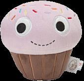 "Yummy - Cupcake Pink 4.5"" Plush"