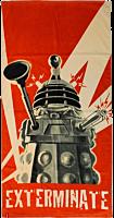Doctor Who - Dalek Exterminate Beach Towel