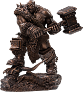 "Warcraft - Ogrim Bronze Variant 10"" Statue"