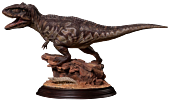 "Dinosaurs - Giganotosaurus Paleontology World 12"" Statue"