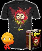 X-Men - Dark Phoenix Orange Translucent Funko Pop! Vinyl Figure & T-Shirt Box Set
