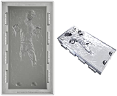 Star Wars - Han Solo in Carbonite Deluxe Size Silicone Ice Cube Tray