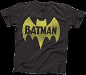 Batman - Vintage Logo Black Male T-Shirt
