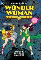 Wonder Woman - War of the Gods Omnibus Hardcover Book