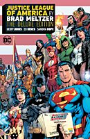 Justice League - Justice League of America by Brad Meltzer The Deluxe Edition Hardcover Book