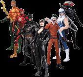 "DC Comics - Super Heroes vs Super Villains 7"" Action Figures 7-Pack (The New 52) **Non-Mint Packaging**"