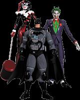 Batman - Hush - The Joker, Harley and Stealth Batman Action Figures (Set of 3)