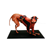 """Deadpool - Dogpool 3"""" Metal Figure Main Image"""