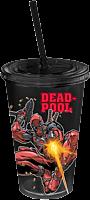 Deadpool Action Plastic Travel Cup