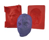 Deadpool Mask Gelatin Mold