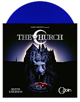 The Church - Original Motion Picture Soundtrack by Keith Emerson and Goblin LP Vinyl Record (Blue Coloured Vinyl)
