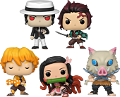 Demon Slayer - You Slay It Best, When You Slay Nothing At All Pop! Vinyl Bundle (Set of 5)