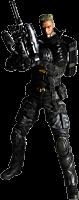 "Deus Ex Human Revolution - Barrett Play Arts Kai 9"" Action Figure Main Image"