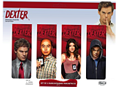 Dexter - Magnetic Bookmarks Cast Style Set A (Set of 4)