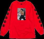 Bruce Lee - DGK x Bruce Lee Like Echo Red Long Sleeve T-Shirt