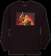 Bruce Lee - DGK x Bruce Lee Technique Black Long Sleeve T-Shirt