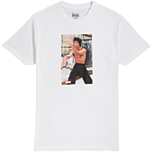 Bruce Lee - DGK x Bruce Lee Like Echo White T-Shirt