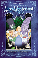 Alice in Wonderland - The Graphic Novel Hardcover Book